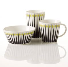 The SuperLiving Amanda tableware will be available in Lime as part of the A/W collection