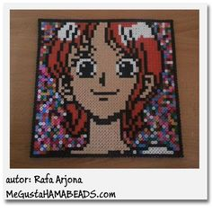 Nami One Piece hama beads by Rafa Arjona