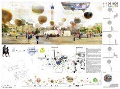 [AC-CA] International Architectural Competition - Concours dArchitecture | [LONDON] Information Pavilion