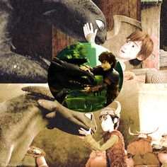 Hiccup  Toothless - I really love their relationship, they trust each other completely :)