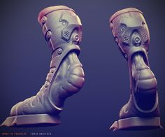 MAXTER·WIP: Character Forge 3D Challenge - WIP