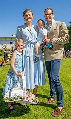 Princess Estelle of Sweden has all the personality and all of the cute! Here is a look at Crown Princess Victoria and Prince Daniel's little girl and all of her sweetest moments in front of the camera. July 2017: Princess Estelle collected the gifts for her mom Crown Princess Victoria during her 40th birthday celebration on July 15. Photo: Getty Images