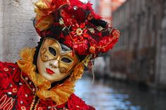 venedik karnaval #red #venice by ayce