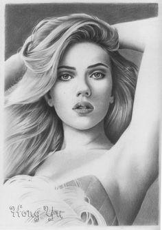 Scarlett Johansson 1 by Hong-Yu.deviantart.com on @deviantART
