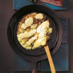 Kartoffelpfanne mit Munsterkäse