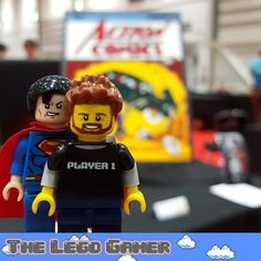 On instagram by thelegogamr  #retrogames #microhobbit (o)  http://ift.tt/1Yufc9d  And also found this awesome Superman comic cover made out of bricks! So I had to call my friend #Superman to take a #selfie #legobrick2015 #legogamer #tlg #thelegogamer #minifig #legominifig #comic #comiccover #actioncomics #superhero #bricks #brick #bricknetwork  #toyslagram #toyphotography #toyslagram_lego #legostagram #geek @excellondon @brickbuiltforlegofans @lego