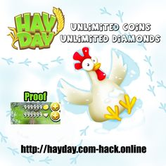 Hay Day Hack - Unlimited Coins and Diamonds http://hayday.com-hack.online