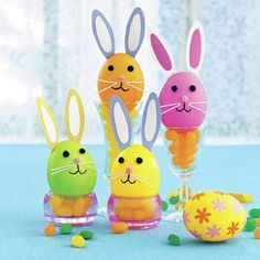 How to make Cute Easter Egg Bunnies