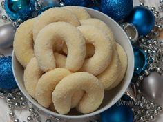 Kokosové vanilkové rožteky