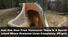 Just One Hour From Vancouver There Is A Secret Island Where Everyone Lives Completely Off-grid | True Activist