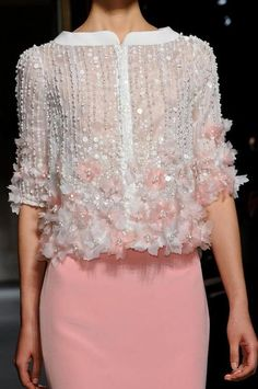 Georges Hobeika couture S/S 2013 details