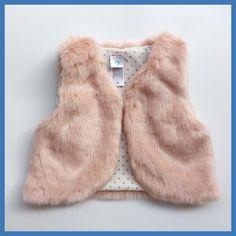 724126896c6 2017 Autumn Winter Baby Sleeveless Faux Fur Vest Baby Girl Winter Waistcoat  Fur Vest For Baby