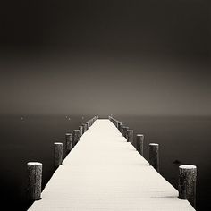 Tahoe pier, clean and endless