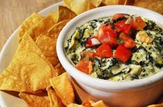 A #MeatlessMonday meal starts with a #vegetarian appetizer. Try our Spinach Artichoke Dip! #VegetarianAwarenessMonth