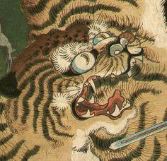 Utagawa Kunitsuna: Magic Tiger