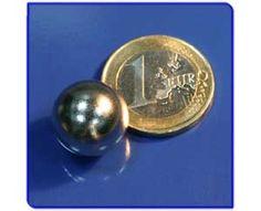 Imán de neodimio Ref. E03 Esfera D15mm Personalized Items, Magnets
