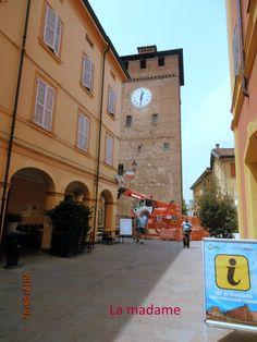 La torre dei modenesi (Nonantola) danneggiata dal terremoto