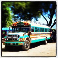 Guatemalan Chicken bus.