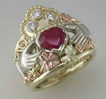 Each ring on this site is more lovely than the next!