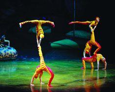 Cirque du Soleil. Imposible cerrar los ojos en su presencia