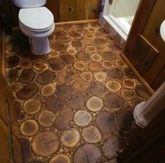 A different style wood floor