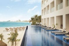 Two new Adults Only All-Inclusive Resorts in Mexico.  Hyatt Ziva Cancun Turquoize (shown in photo) and the new Unico Hotel Riviera Maya which is slated to open 1st quarter of 2017.  The Unico will have 2 bedrooms and a living room, perfect for couples traveling together.