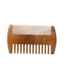 1 pcs spazzola per capelli testa multa a denti larghi sandalo baffo legno massaggio anti-statico pettine vendite calde