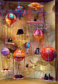 """SCHAUFENSTER DEKORATION, Germany, """"New products arriving daily"""", pinned by Ton van der Veer"""