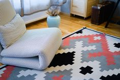 Dare to Rug <Mellow> from the 'Romanian Moods' Collection. Hand-tufted with the best New Zealand wool. Dares, Kids Rugs, Interior Design, Inspiration, Home Decor, Collection, Nest Design, Biblical Inspiration, Decoration Home