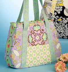 McCall's Patterns M5822 Tote Bag In 3 Sizes, One Size Only - Inexpensive Sewing Patterns - [Sale Price: $3.25]