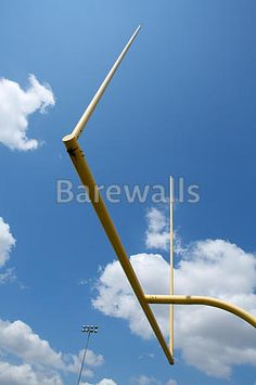"""""""American Football Field Goal Posts"""" - Football posters and prints available at Barewalls.com"""