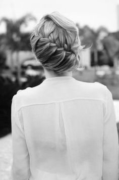 wrapped french braid