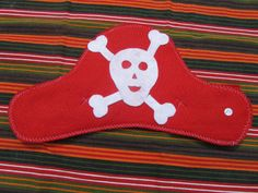 Felt pirate hat by knittedswimsuit on Etsy, £5.00