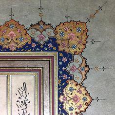 Klasik tezhib detay... #tezhib #tezhibsanatı #klasiksanatlar #gelenekselsanatlar #hat #müzehhibe #hatsanatı #istanbul #türkiye #art