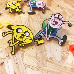 Pokémon x Adventure Time pin set from Thumbs now stocked at www.nofitstate.co