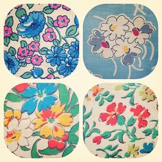1940's fabrics @Donna Flower- #webstagram