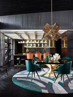 Due to Maison et Objet, we bring you luxury dining room ideas by the top interior designers in France. Luxury Interior Design, Best Interior, Home Interior, Contemporary Interior, Contemporary Architecture, Architecture Design, Luxury Dining Room, Dining Room Design, Luxury Living