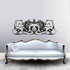 Wall Decal Art Decor Decals Sticker Bear Animal Paw Three Poster Room (M212) DecorWallDecals http://www.amazon.com/dp/B00FVWL1VE/ref=cm_sw_r_pi_dp_J-lYub029G9DF