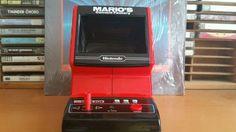 Nintendo tabletop game and watch marios  cement factory  #Nintendo