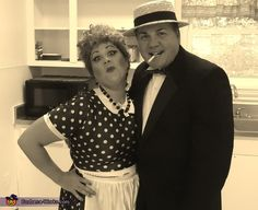 Lucy And Ricky Costume - 2013 Halloween Costume Contest via @costumeworks