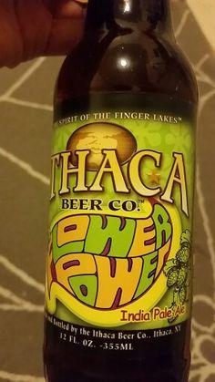 Ithaca flower power. Way too hoppy