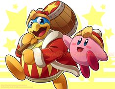 Kirby and King Dedede Print by silverava on DeviantArt