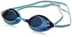 Speedo Competitive Womens Vanquisher 20 Mirrored AntiFog Swim Goggles Aqua >>> Want additional info? Click on the image.