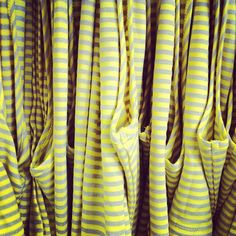 We love our stripes! A fun new maxi dress just arrived in yellow and grey, so get yours today! :))