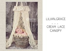 Can win this gorgeous cream lace canopy and other prizes from Lilan Grace's Birthday Giveaway! Thanks  @amandabuechler