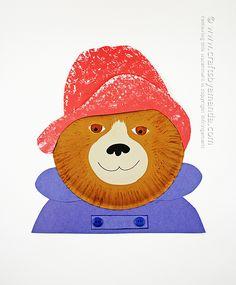 Paper Plate Paddington Bear by Amanda Formaro (@amandaformaro)