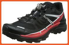 Salomon Unisex S-Lab Wings SG Black/Racing Red/White Men's 9.5, Women's 10.5 Medium - Outdoor shoes for women (*Amazon Partner-Link)