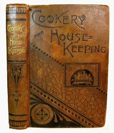 ANTIQUE COOKBOOK Victorian COOKERY Household VINTAGE RECIPES Pastry ICE CREAM