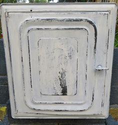 Vintage Bread Box Vintage White Metal Bread Box by oZdOinGItagaiN, $30.00