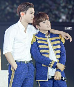 Siwon and Ryeowook - Super Junior